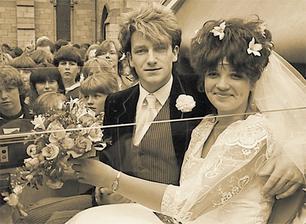 Bono Vox (U2) a Alison Hewson (1982)