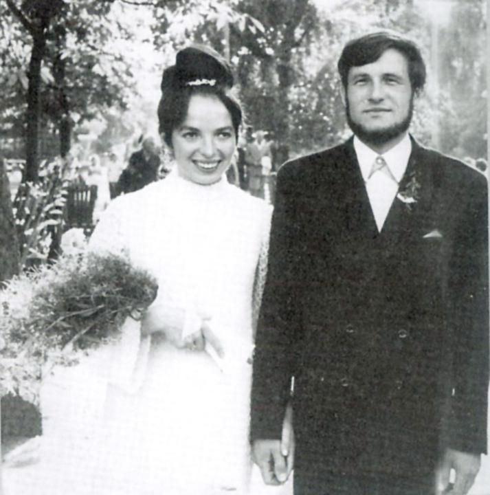 Svatby celebrit - Václav a Livia Klausovi (1968)