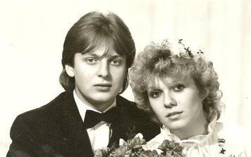Láďa Křížek a jeho manželka Taťána (1985)