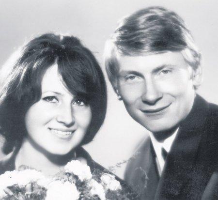 Svatby celebrit - Josef Dvořák a Arnoštka Hniličková (1975)