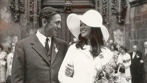 Svatby celebrit - Carmen Mayerová a Petr Kostka (1972)