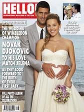Novak Djokovic a Jelena Ristic (2014)