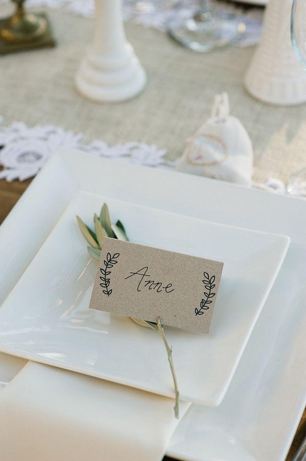 Prostírání stolů + jmenovky - Obrázek č. 56
