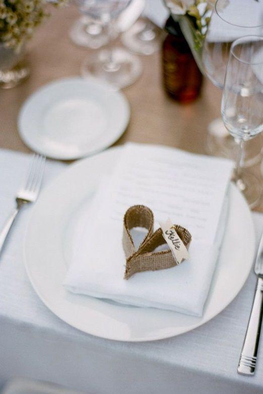 Prostírání stolů + jmenovky - Obrázek č. 65