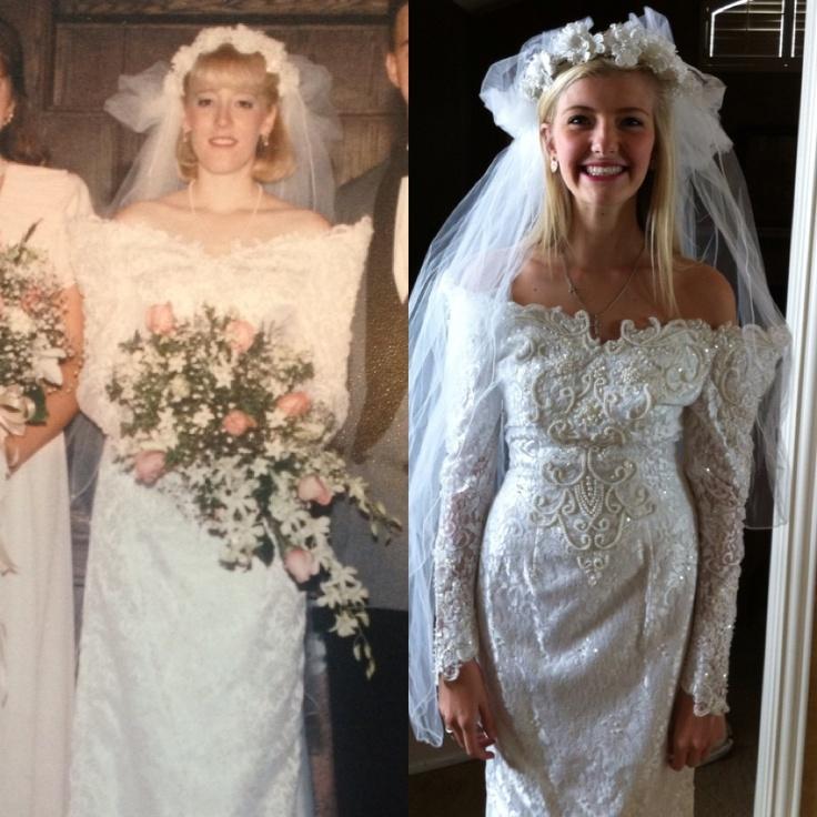 Maminčiny svatební šaty :) - Obrázek č. 4