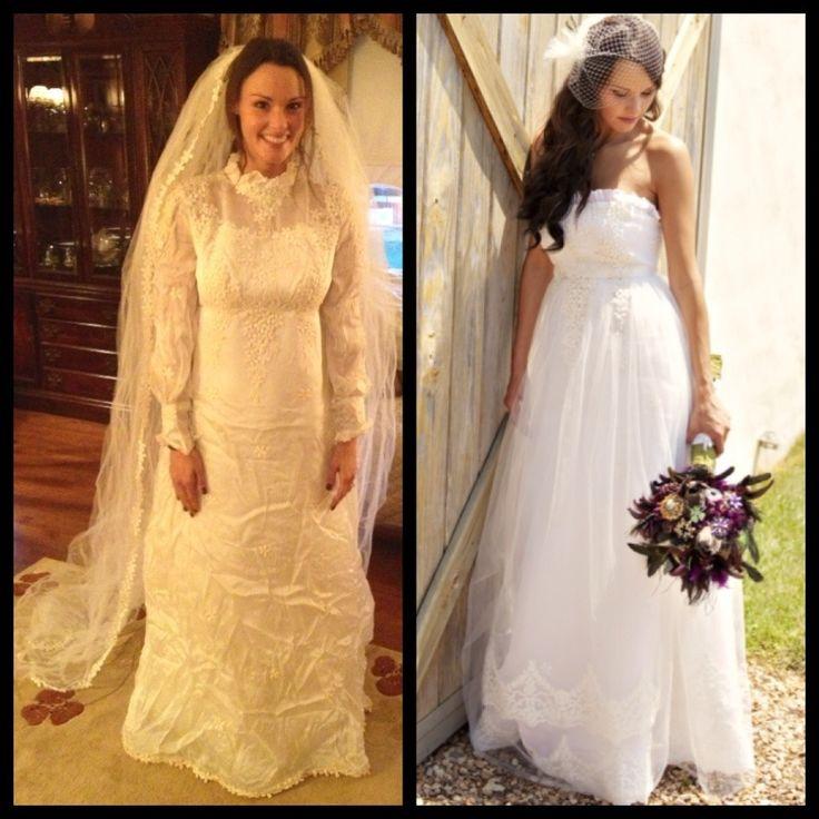 Maminčiny svatební šaty :) - Obrázek č. 5