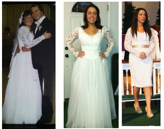 Maminčiny svatební šaty :) - Obrázek č. 20