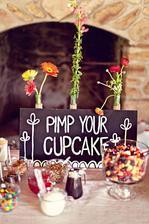 Ať si udělají vlastní cupcake, úplně podle sebe :)