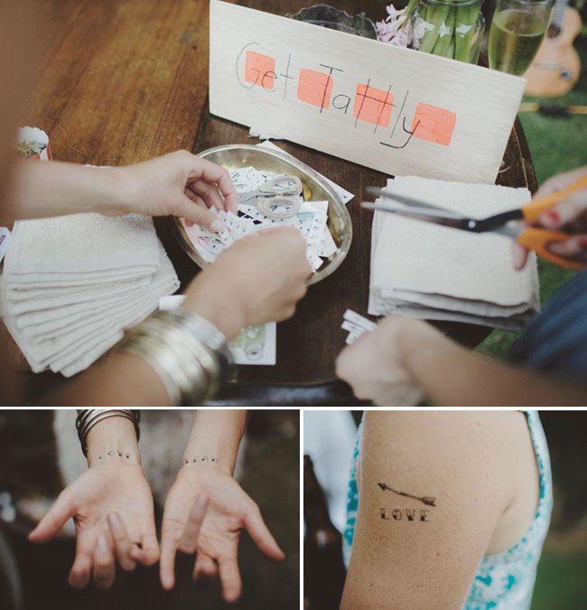 Hosté ocení - Svatební tetovačka :)