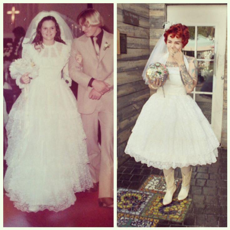 Maminčiny svatební šaty :) - Obrázek č. 22