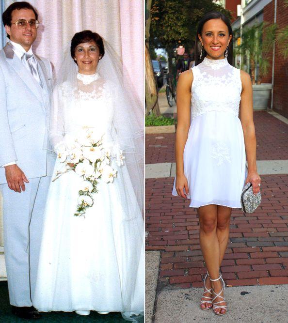 Maminčiny svatební šaty :) - Obrázek č. 25
