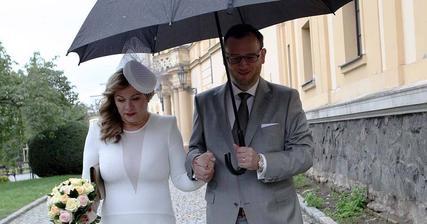 Jana Nagyová a Petr Nečas (2013)