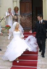 Miluše Bittnerová a její manžel Lukáš (2006)