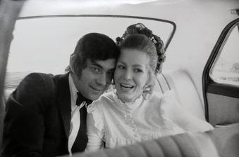 Petr Čepek a manželka Helena