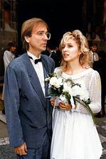 Meky Žbirka a manželka Kateřina (1988)
