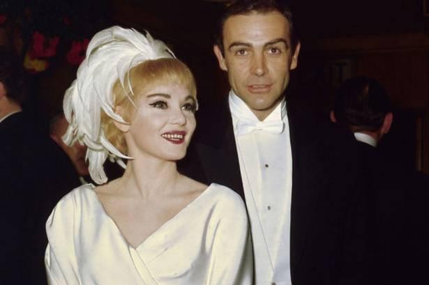 Svatby celebrit - Sean Connery a Diane Cilento (1962)