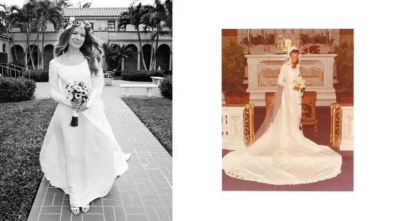 Maminčiny svatební šaty :) - Obrázek č. 31