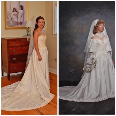 Maminčiny svatební šaty :) - Obrázek č. 32