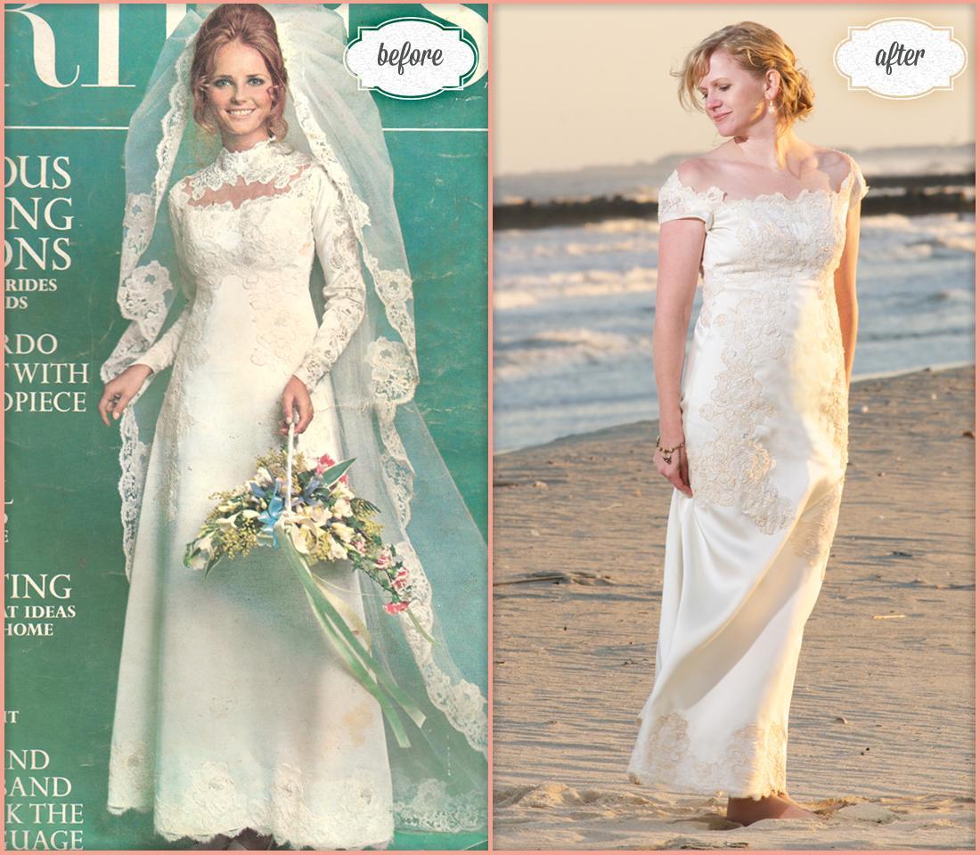 Maminčiny svatební šaty :) - Obrázek č. 35