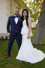 Mário Kuly Kollár (Desmond) a manželka Lucia (2014)