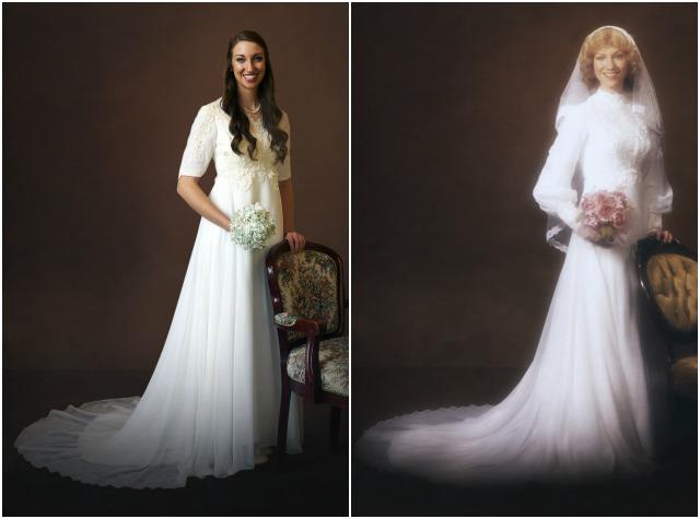 Maminčiny svatební šaty :) - Obrázek č. 38