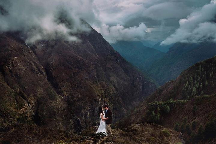 Foto - ženich a nevěsta - Obrázek č. 402