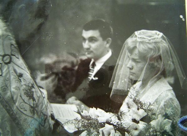 Svatby celebrit - Eva Pilarová a Milan Pilar (1960)