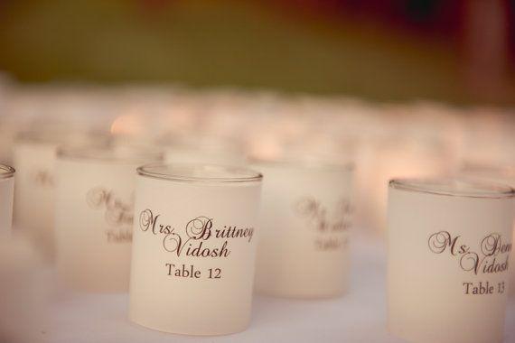Prostírání stolů + jmenovky - Obrázek č. 100
