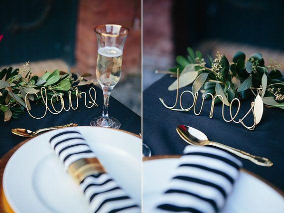 Prostírání stolů + jmenovky - Obrázek č. 101