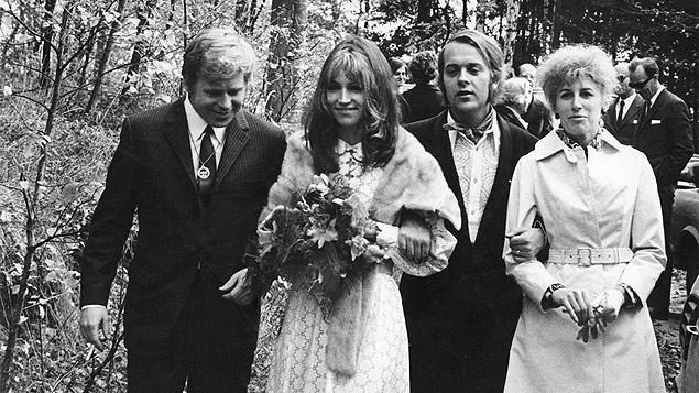 Svatby celebrit - Marta Kubišová a Jan Němec (1970)