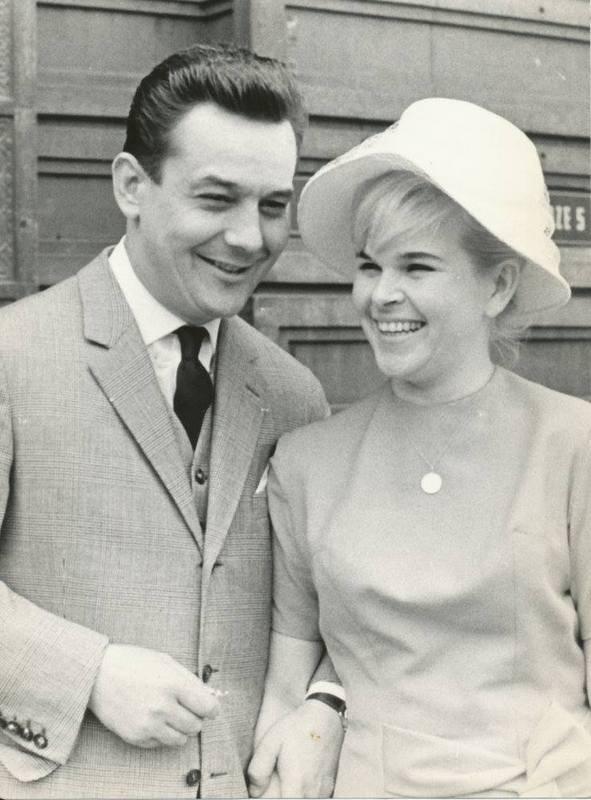 Svatby celebrit - Josef Vinklář a Ivanka Devátá