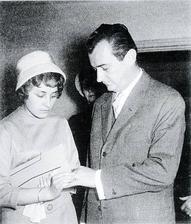 Jiří Sovák a Andulka Nováková (1960)