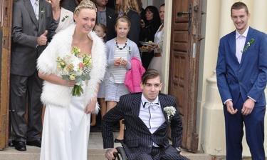 Lukáš Šembera a jeho manželka Iveta (2015)