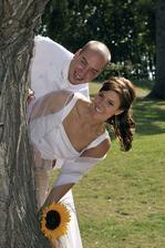 Ondřej Slanina a manželka Martina (2009)