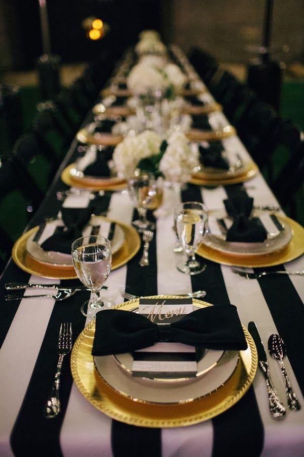 Černo-zlatá svatba - Obrázek č. 3