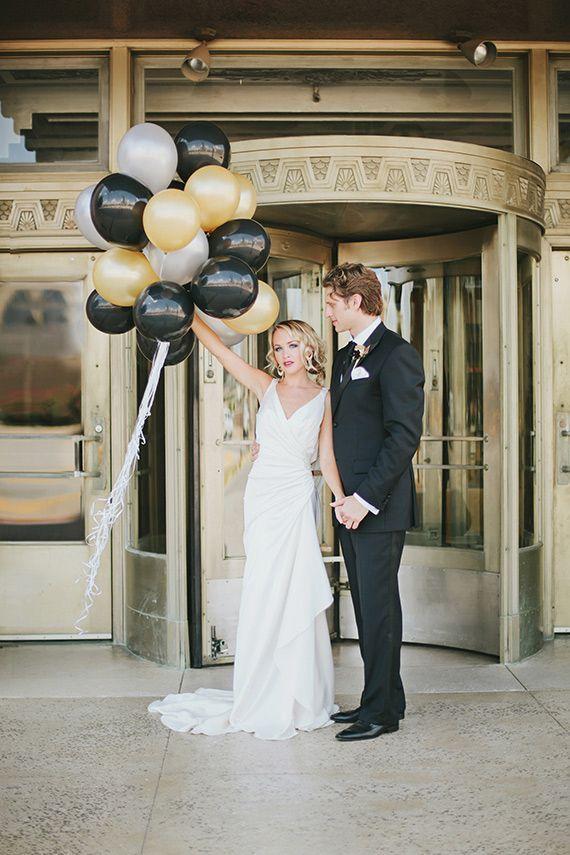 Černo-zlatá svatba - Obrázek č. 8