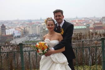 Radka Třeštíková s manželem Tomášem (2012)