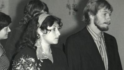 Halina Pawlowská a její manžel Zdeněk (1977)