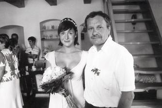 Lenka Krobotová a Václav Havelka (na snímku s otcem) (2008)