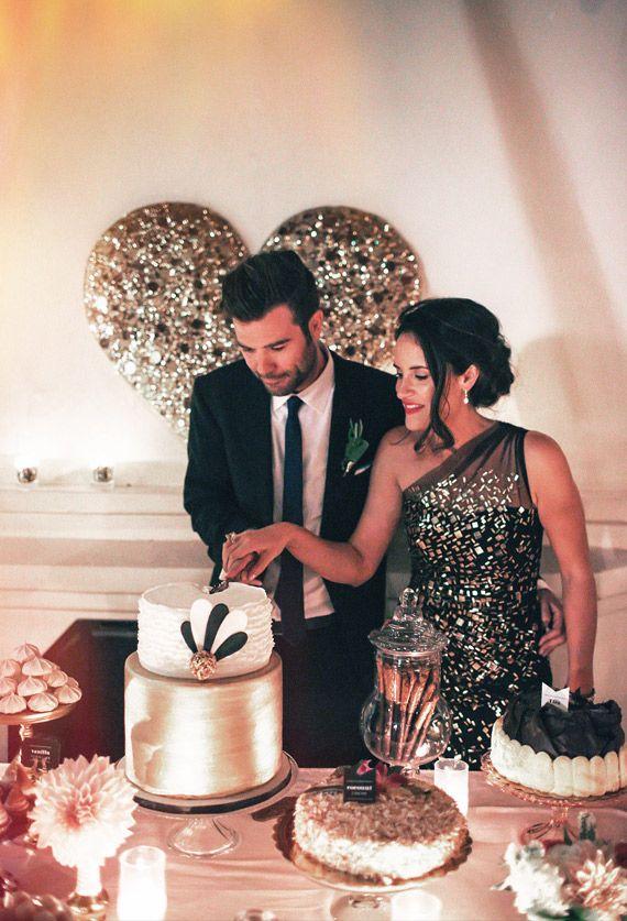 Černo-zlatá svatba - Obrázek č. 32