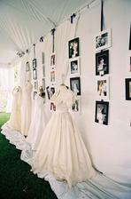 Výstavka rodinných šatů na vaší svatbě :)