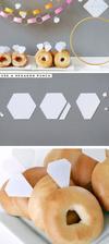 Jak z obyčejných koblížků/donutů udělat diamantové skvosty