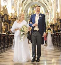 Roman Šmucler s manželkou Ivanou (2015)