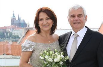 Zlata Adamovská a Petr Štěpánek (2013)