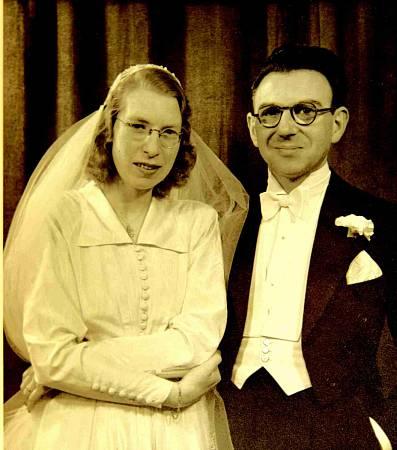 Svatby celebrit - Nicholas Winton a Grete Gjelstrup (1948)