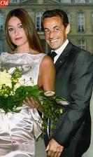 Nicolas Sarkozy a Carla Bruni (2008)