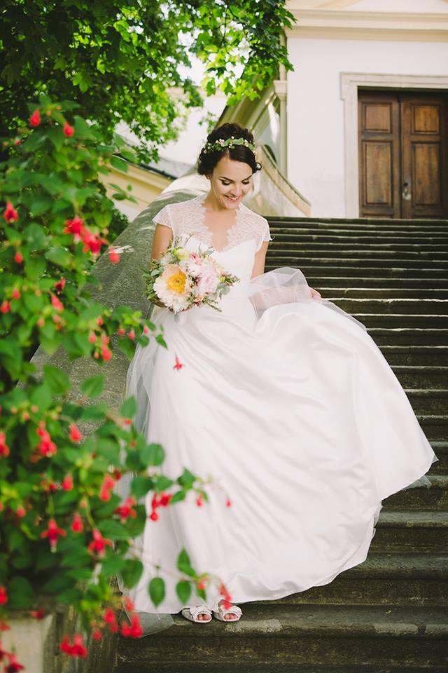 Svatební šaty - Marie Mukařovská - Obrázek č. 20