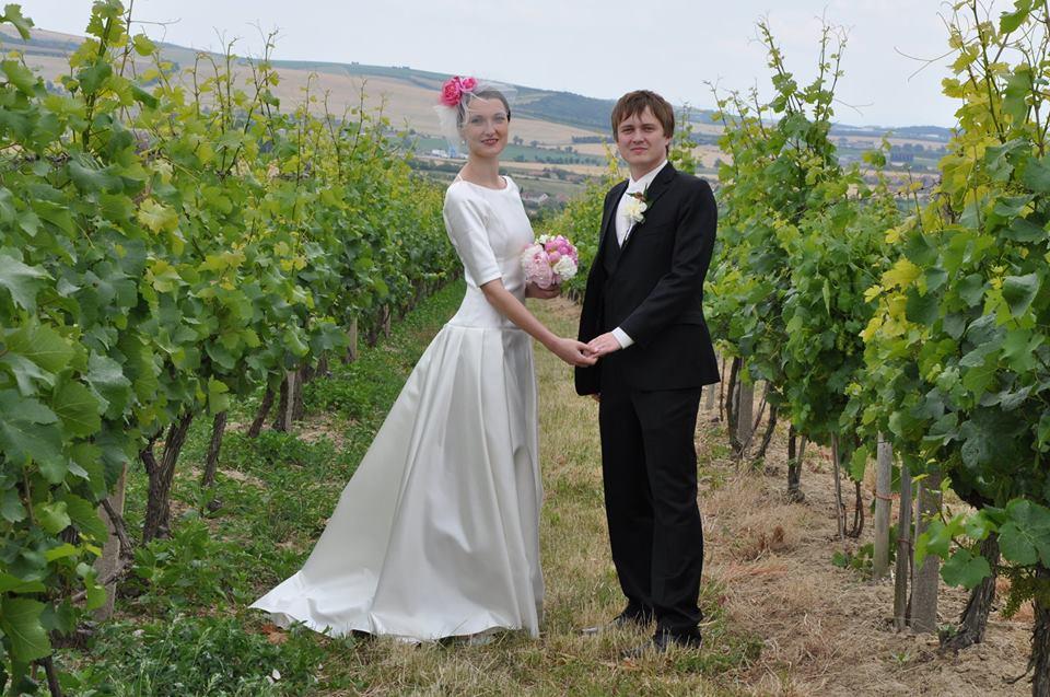 Svatební šaty - Marie Mukařovská - Obrázek č. 27