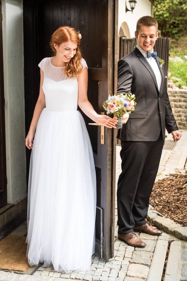 Svatební šaty - Marie Mukařovská - Obrázek č. 35