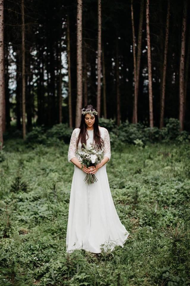 Svatební šaty - Marie Mukařovská - Obrázek č. 5